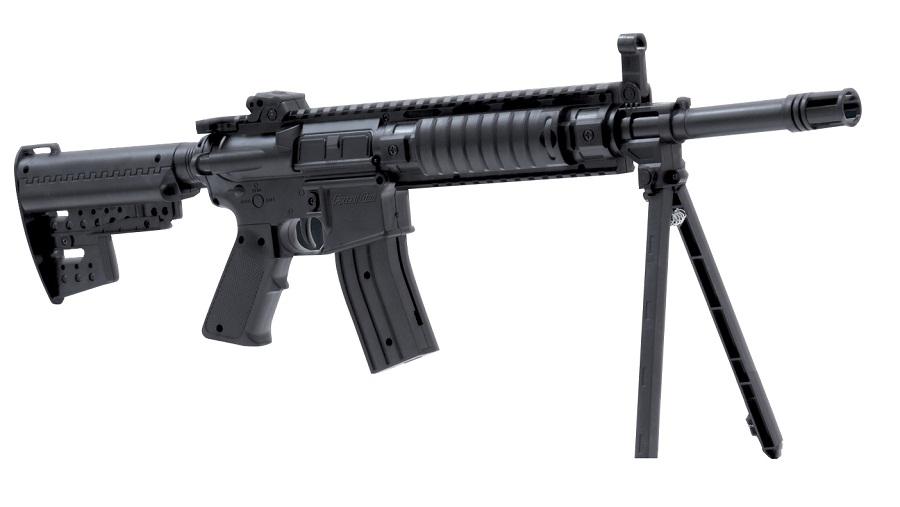 Le fusil d'assaut Airsoft est en vente libre sur les sites spécialisés. Il en existe plusieurs modèle tous plus impressionnants les uns que les autres (Photo d'illustration)