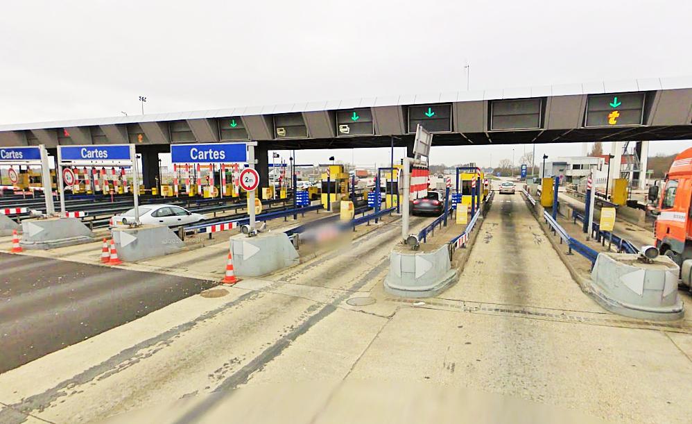 L'accident s'est produit peu après la barrière de péage d'Heudebouville, en direction de Rouen (Photo d'illustration)