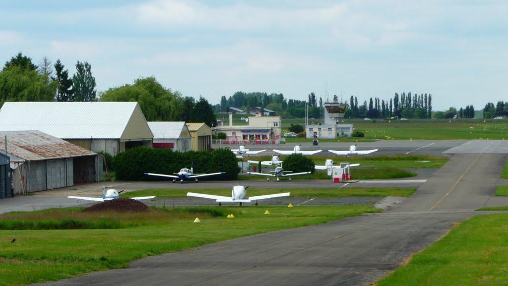 L'appareil avait décollé de l'aérodrome de Saint-Cyr-l'Ecole (Photo d'illustration)