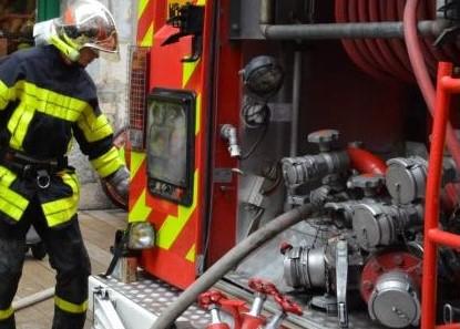 Une habitation détruite par un incendie hier soir à Saint-Pierre-lès-Elbeuf