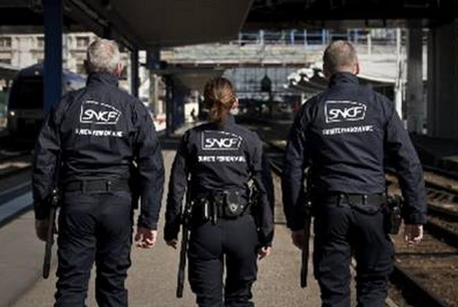 Photo d'illustration d'agents de la sûreté ferroviaire (Suge)