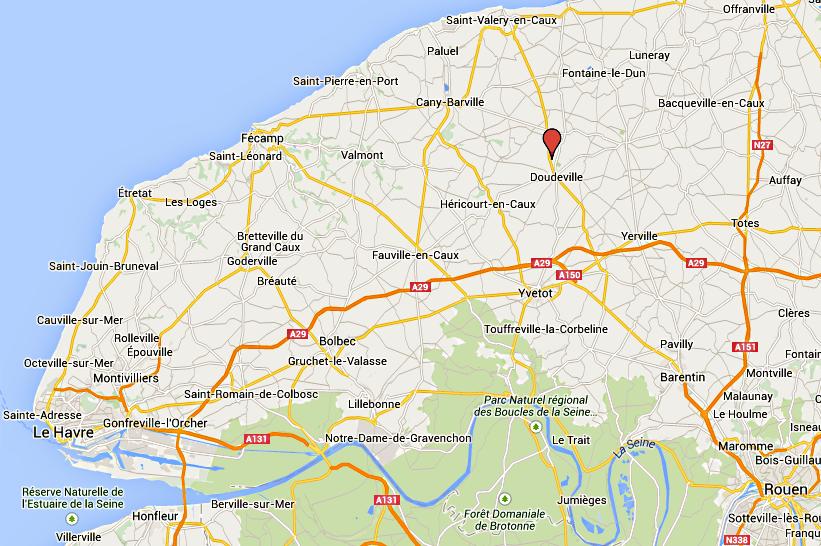 Seine-Maritime : un piéton fauché mortellement par une voiture près de Doudeville