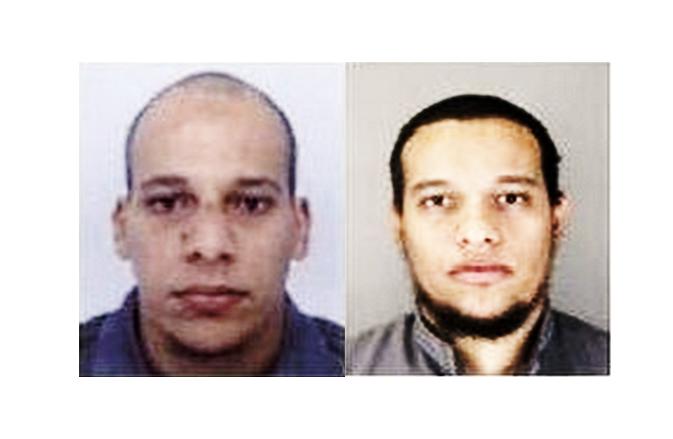 Les deux frères Kouachi : Chérif, 32 ans (à gauche) et Saïd, 34 ans