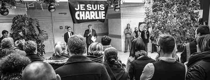 Une minute de silence a été observée à midi au Conseil général de l'Eure (Photo CG27)