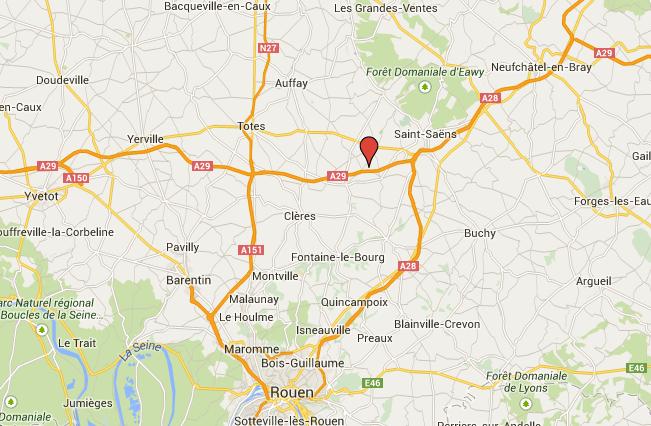 Seine-Maritime : une citerne de 28 000 litres d'éthanol couchée sur l'A29