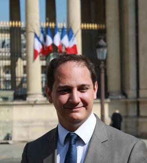 François-Xavier Priollaud, maire de Louviers