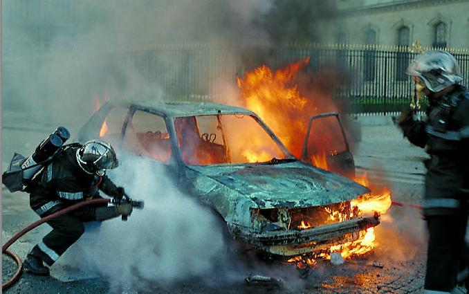 Photo d'illustration d'une intervention de pompiers
