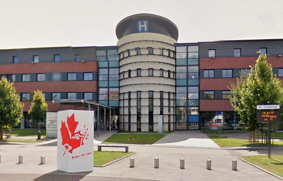Hôpital de Dieppe : un homme de 73 ans se tue après une chute de dix mètres