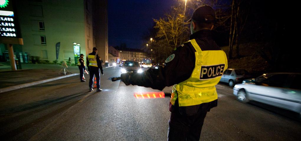 Contrôle de police (Photo d'illustration @DGPN)