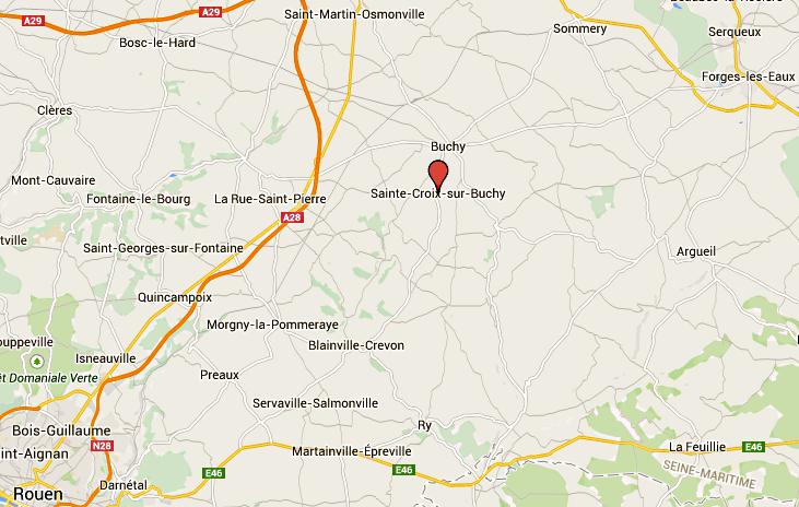 Un chef d'entreprise meurt écrasé par une benne hydraulique, près de Buchy