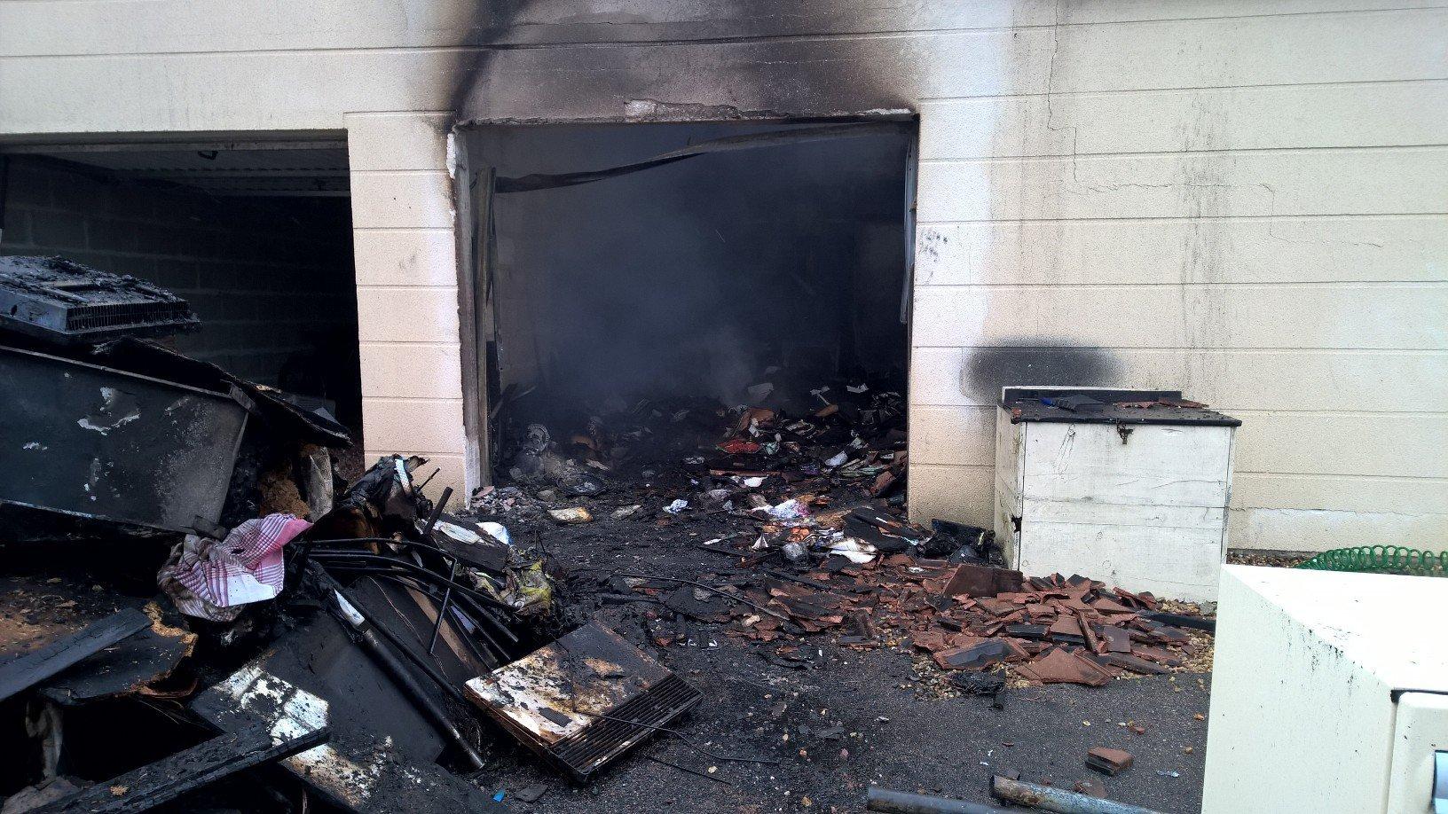 La friteuse se trouvait dans le garage au moment où elle s'est embrasée accidentelllement (Photo DR)