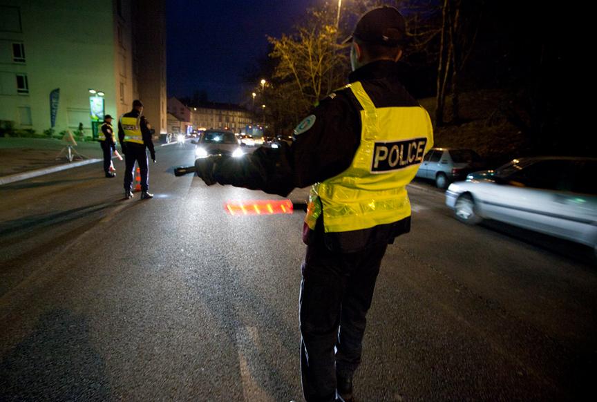 La conductrice a été interpellée lors d'un banal contrôle routier dimanche matin au Havre (Photo d'illustration)