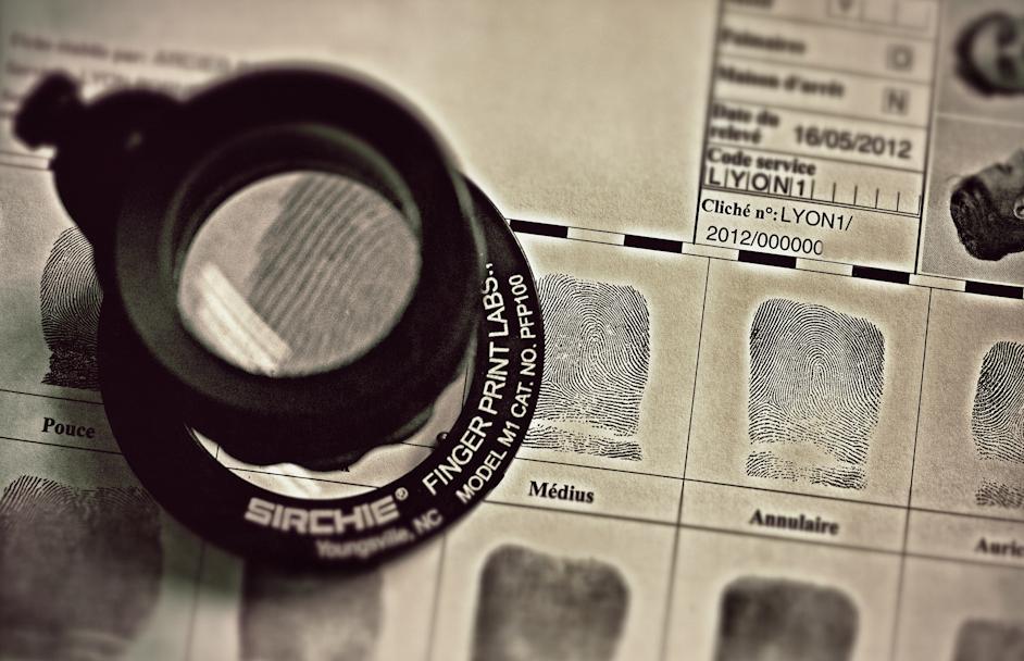 L'examen des traces papillaires retrouvées sur les les lieux par l'Identité judiciaire (IJ) ont permis de conforter les soupçons qui pesaient sur un suspect (Photo d'illustration @DGPN)