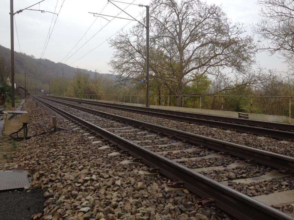 L'homme ivre marchait sur les voies ferrées et provoque l'arrêt de 4 trains