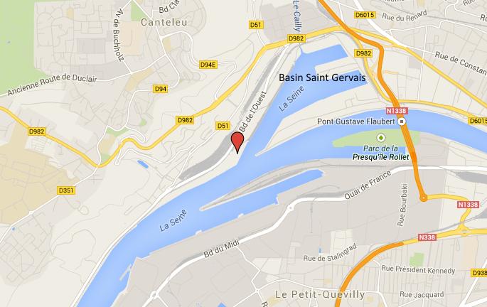 Rouen : le corps d'un homme d'une quarantaine d'années repêché en Seine