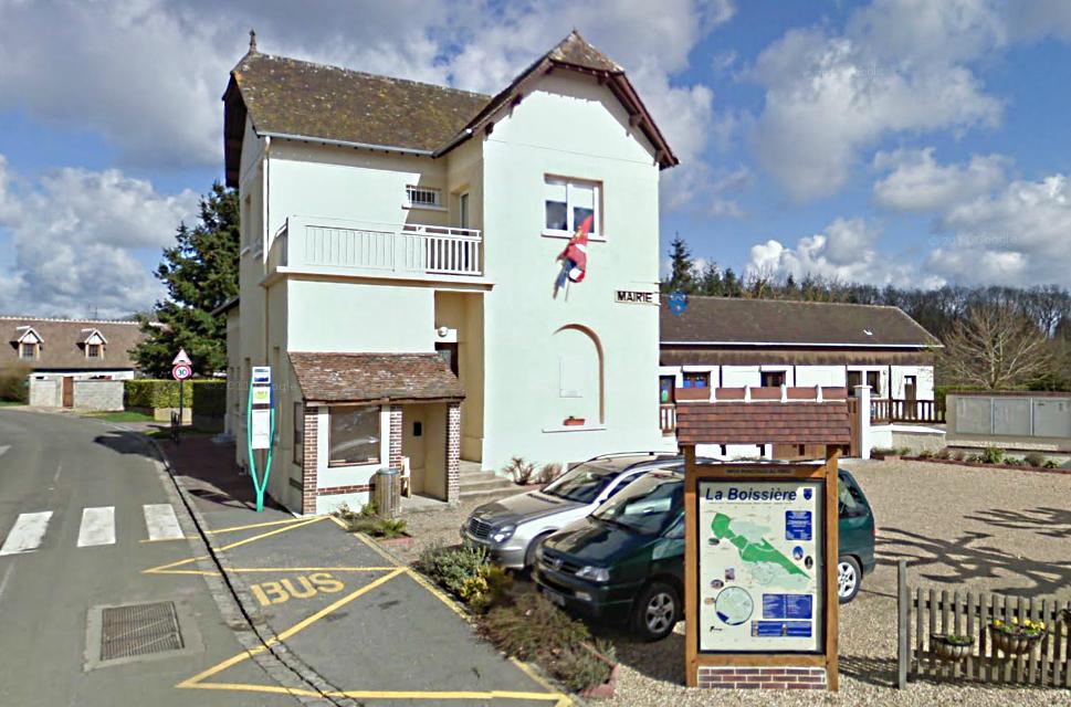 La Boissière, un bourg en bordure de la vallée d'Eure entre Pacy et Saint-André-de-l'Eure