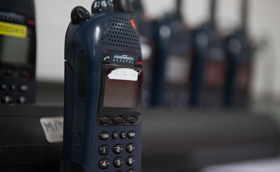 Le signalement des suspects et de la Renault Mégane a été diffusé pa radio à tous les services de police d'Ile-de-France (Photo @DGPN)