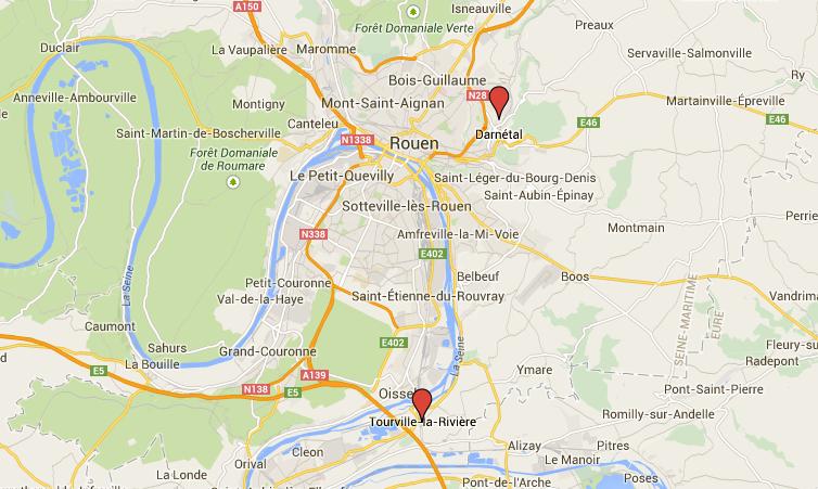 Darnétal : deux enfants en fugue retrouvés à Tourville-la-Rivière après une nuit à la belle étoile