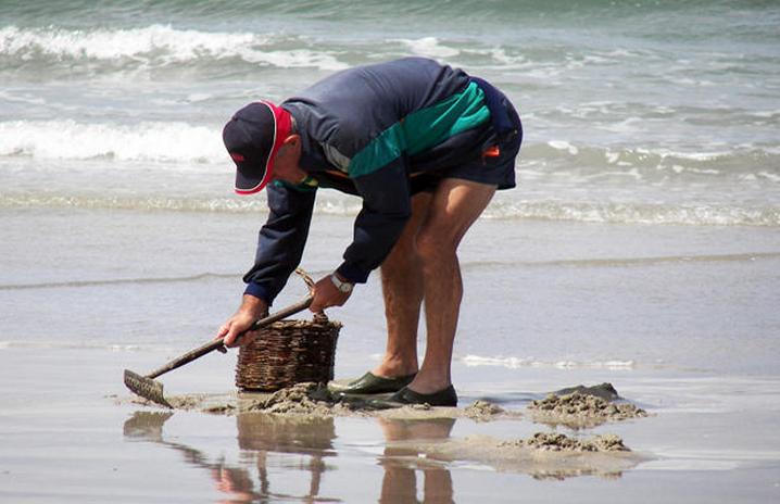 Les pêcheurs à pied devront être particulièrement vigilants à l'occasion de la grande marée (Photo d'illustration)