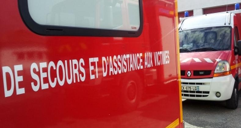 La fillette a été transportée au CHU de Rouen par les sapeurs-pompiers (Photo d'illustration)