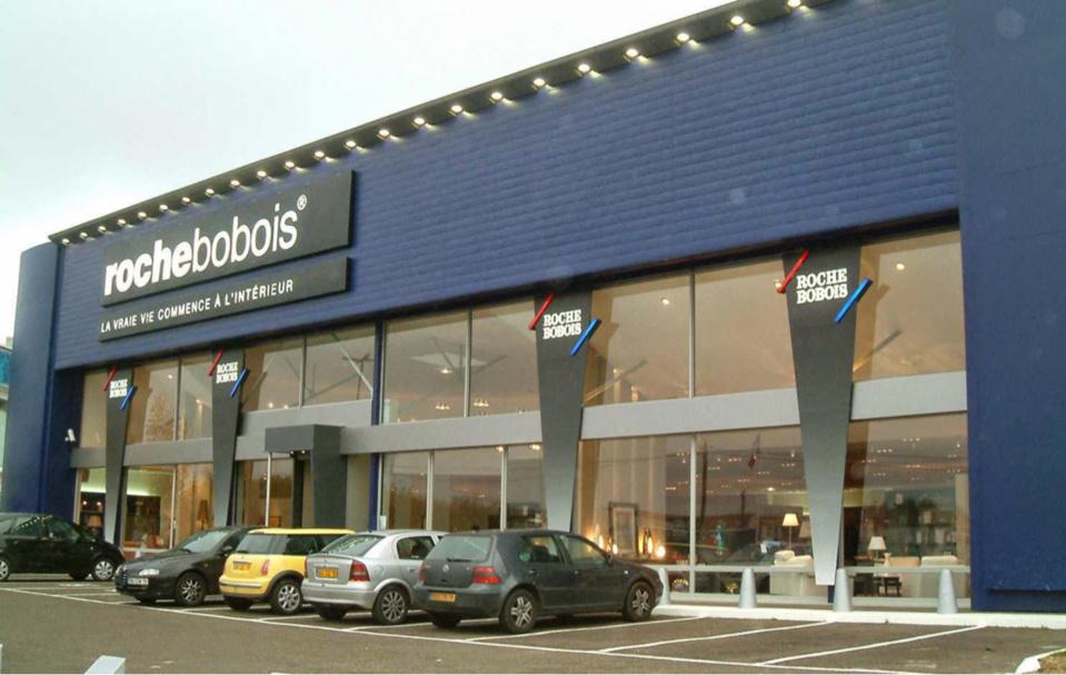 Le magasin Roche Bobois a Coignières