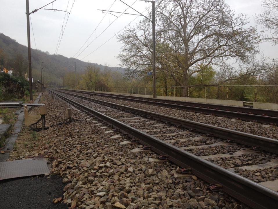 @illustration - L'homme s'est jeté sous le train à environ 1 kilomètre de la gare de Poissy