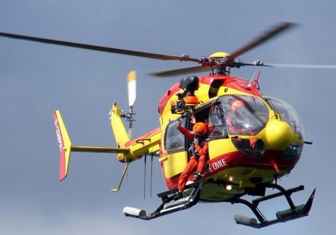 L'équipage de Dragon 50, l'hélicoptère de la sécurité civile, a repris les recherches ce lundi matin. En vain