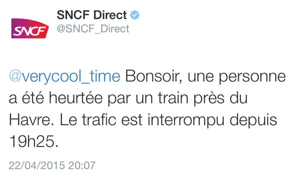 Le Havre : un homme écrasé par un train en voulant éviter un contrôle de police