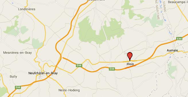 Accident d'autocar entre Neufchâtel-en-Bray et Aumale : la D 929 est partiellement coupée