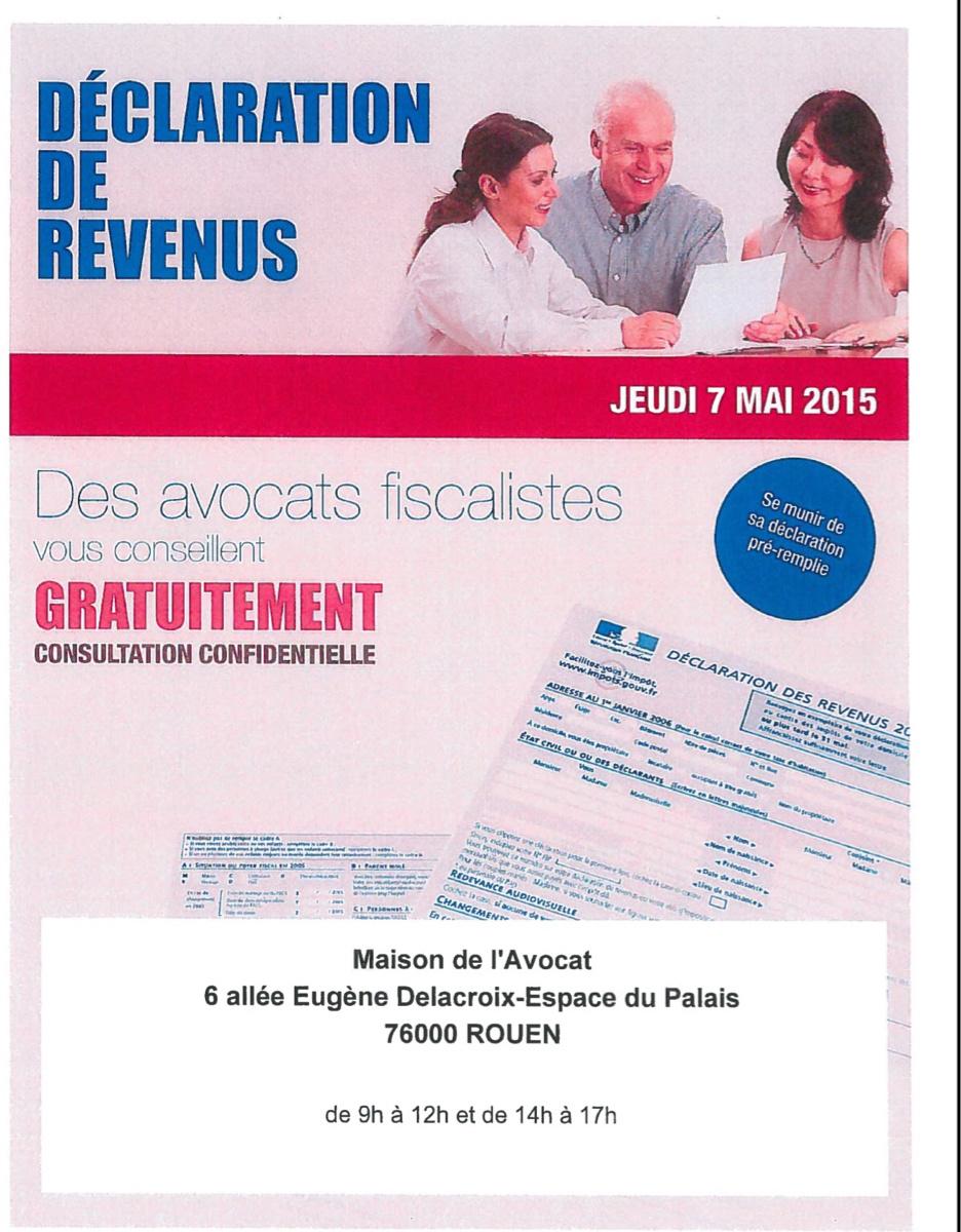 À Rouen, des avocats pour vous aider à remplir votre déclaration d'impôts