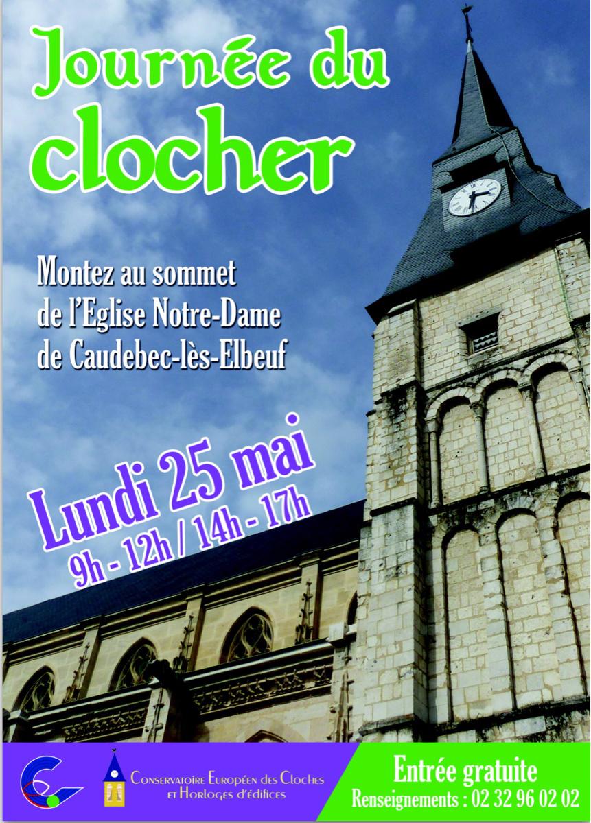 Visite et exposition : Caudebec-lès-Elbeuf participe à la Journée du clocher le 25 mai