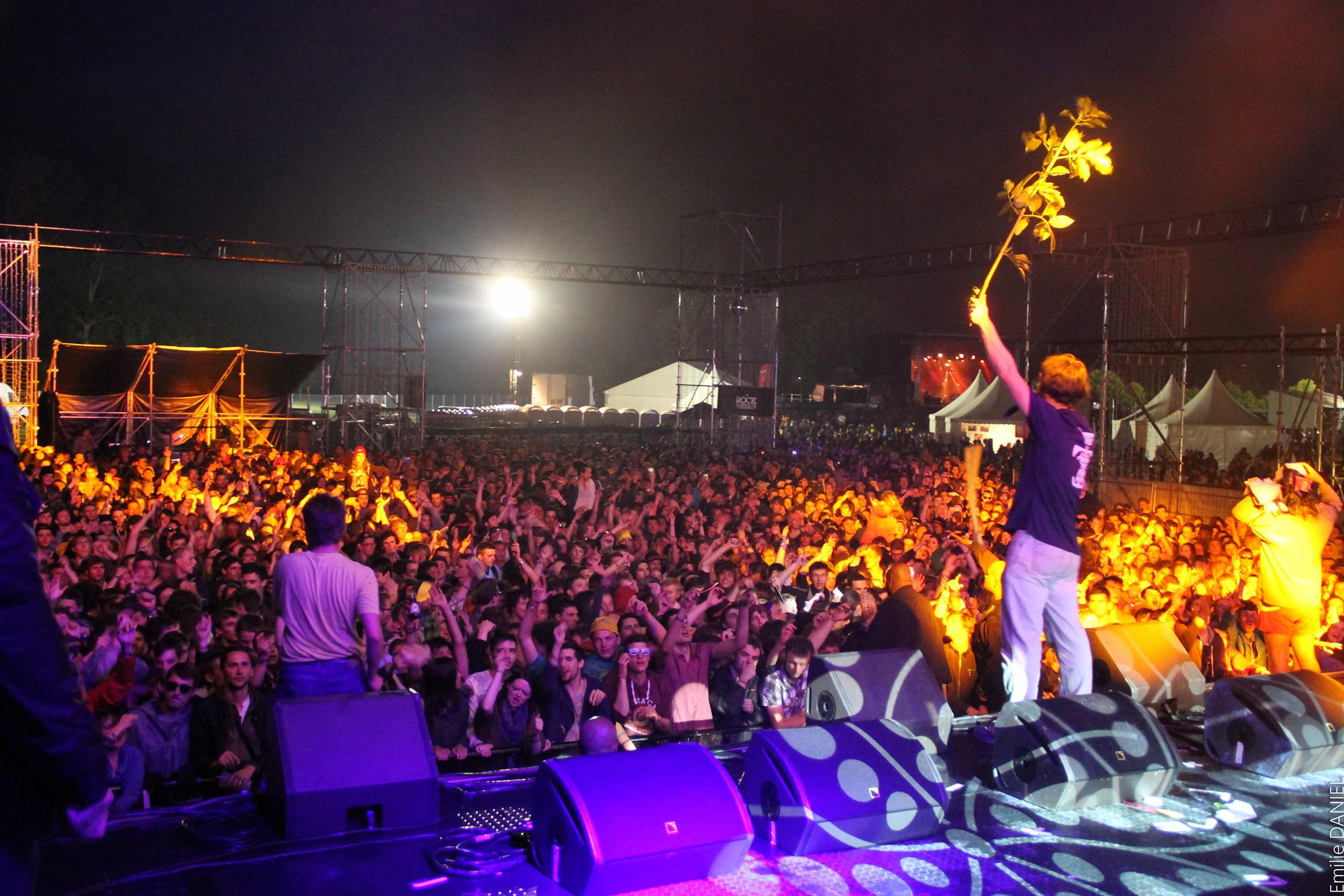 Plusieurs dizaines de milliers sont attendus cette année encore au festival Le Rock dans tous ses états, sur l'hippodrome d'Evreux (Photo Emilie Daniel)