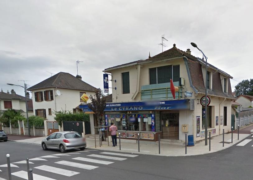 Les individus ont pénétré par effraction dans le bar tabac situé à l'angle du boulevard du commerce et de l'avenue de la Marne, à Elisabethville, et ont dérobé un peit coffre-fort (Illustration Google Maps)