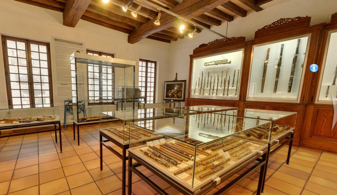 Le musée des instruments à vent de La Couture-Boussey