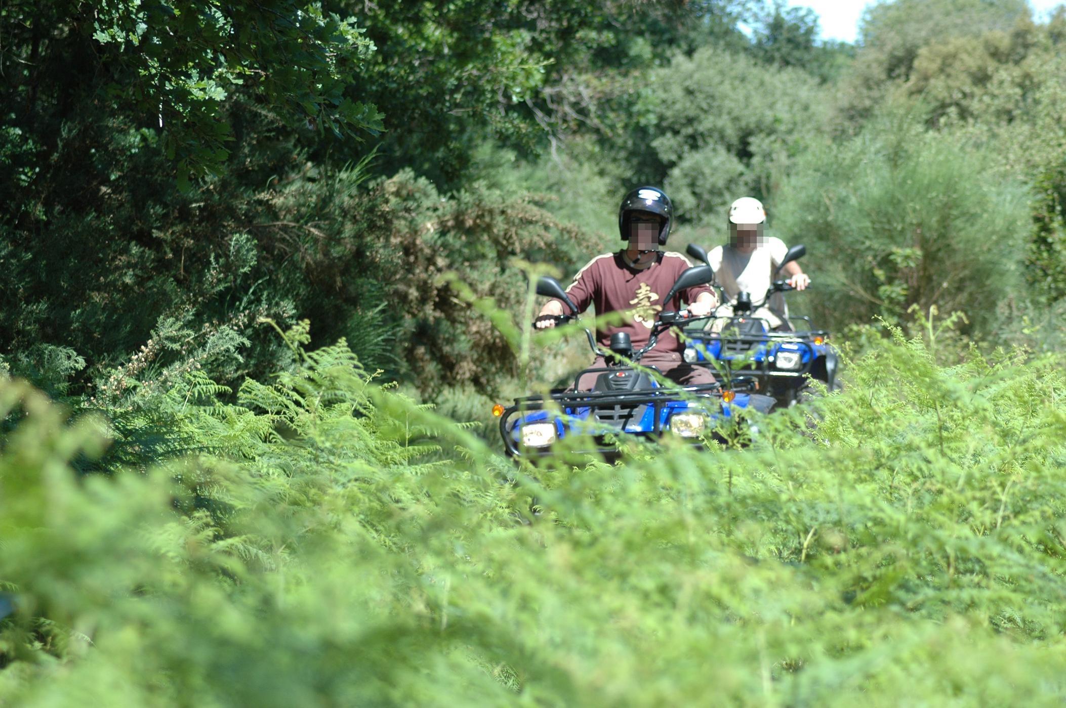 Rouen : six motos et un quad confisqués lors d'une opération anti-rodéos en forêt