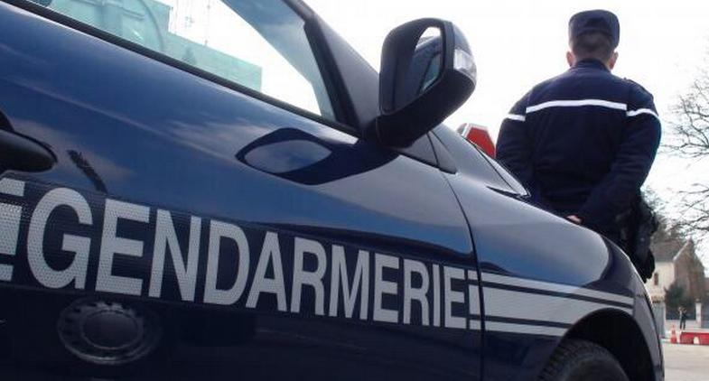 L'auteur des faits a été surpris par des gendarmes en patrouille (Illustration)