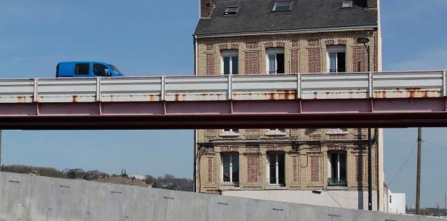 L'autopont de Graville (Photo @lehavre.fr)