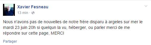 Appel à témoin : un habitant de Montivilliers porté disparu à Argelès-sur-Mer