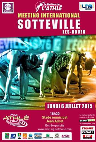 Meeting international d'athlétisme de Sotteville : une affiche de haute tenue