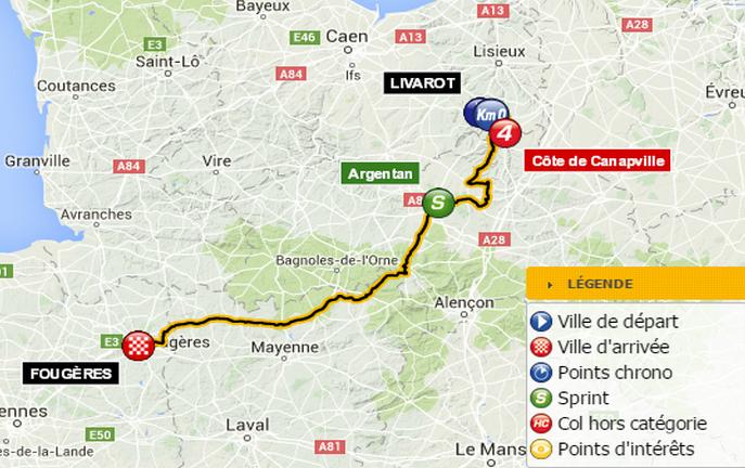 Tour de France : toutes les infos sur les deux étapes normandes