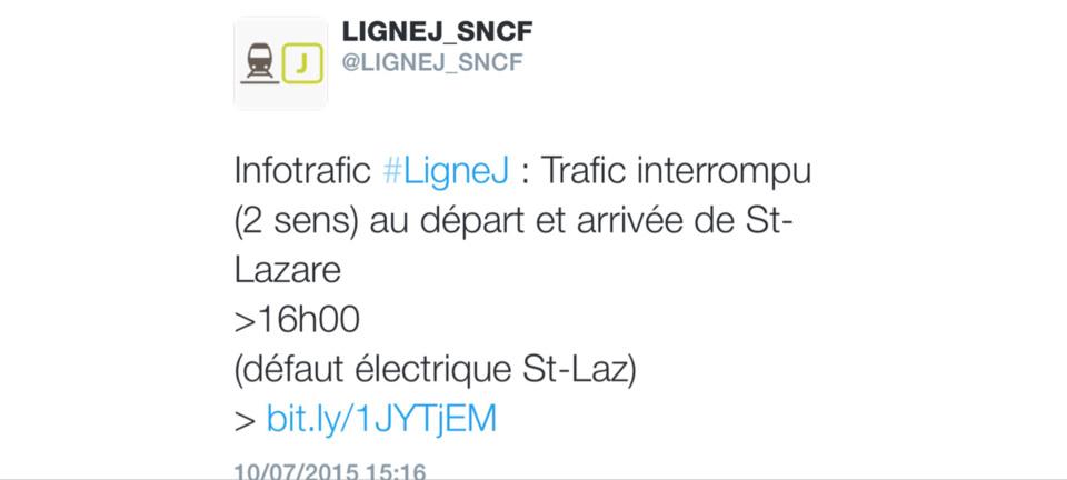 SNCF : incendie entre Aubergenville et les Mureaux, le trafic des trains interrompu