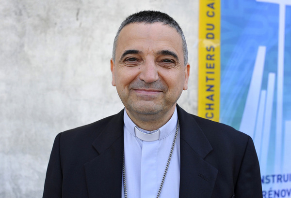 Monseigneur Dominique Lebrun (Photo : P. Razzo/CIRIC)
