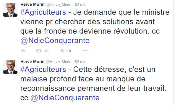Hervé Morin (UDI) député de l'Eure, ancien ministre de la Défense