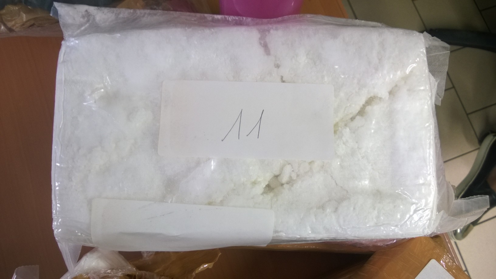 La cocaïne saisie représente une valeur de 1,5 million d'euros àla revente (Photo : Douane)