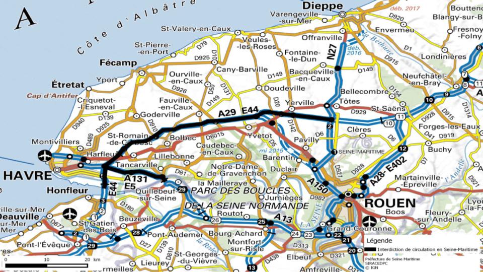 Manifestation des agriculteurs : circulation interdite pour les plus de 3,5 t en Seine-Maritime