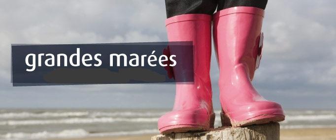 Grandes marées : les conseils de sécurité à observer du 1er au 4 août