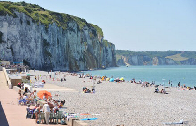 La plage de Dieppe (@Dieppe.fr)