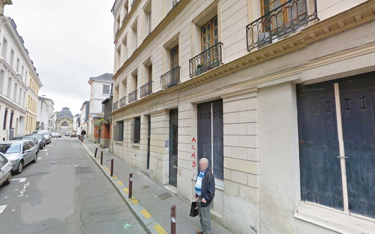 C'est dans un appartement du rez-de-chaussée de cet immeuble que le feu couvait dans un tas d'immondices (Photo@Google Maps)