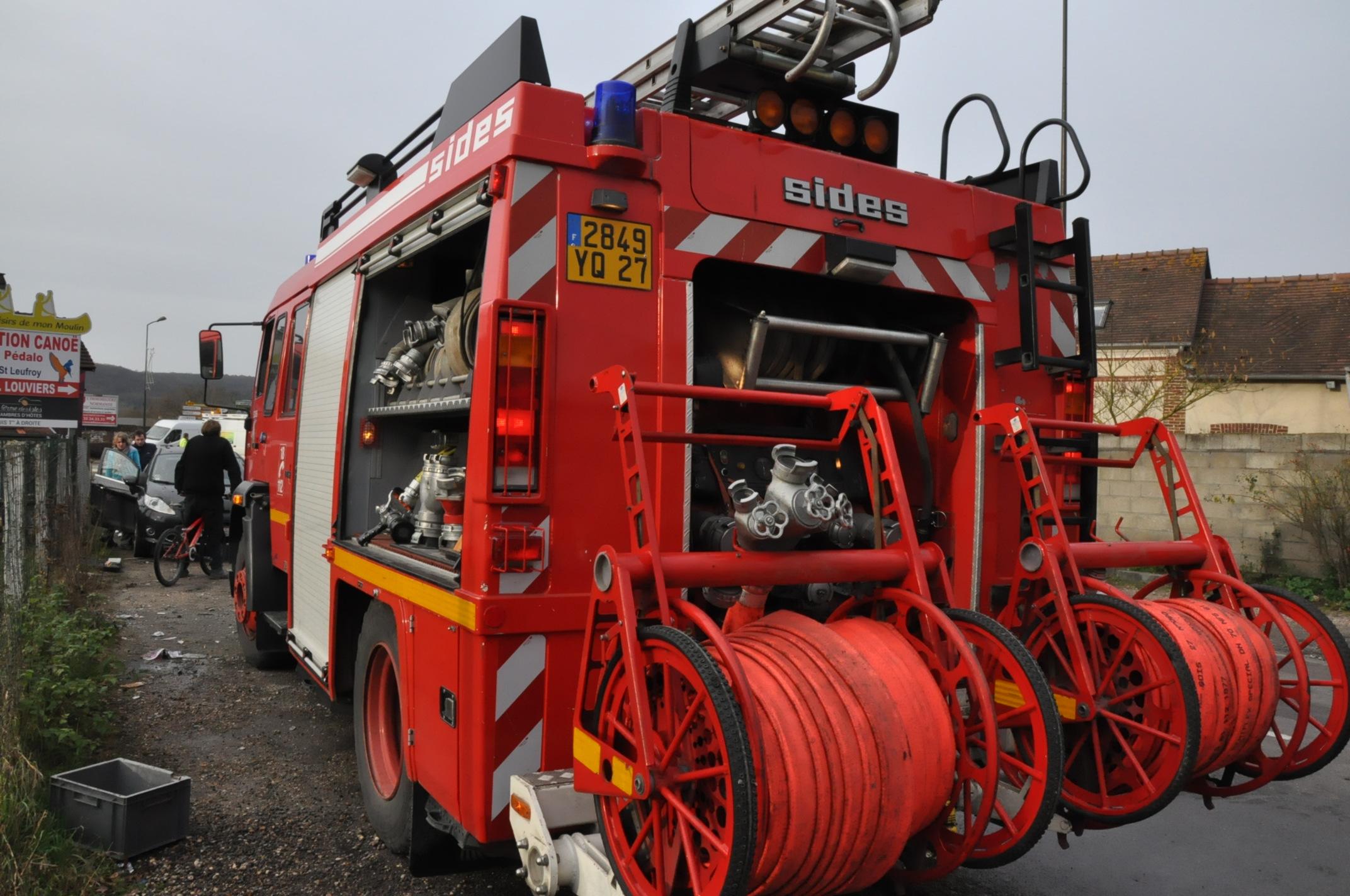 Illustration. Les pompiers ont déployé des moyens pour venir à bout de l'incendie qui menaçait de se propager