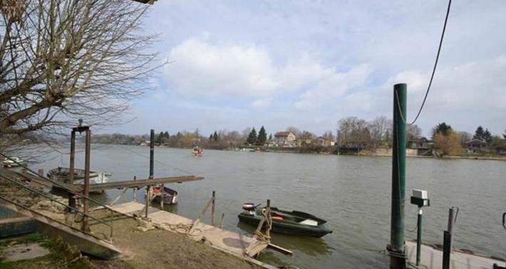 Photo d'illustration de la Seine à Villennes-sur-Seine (@DR)